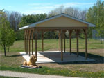 Picnic Shelter at Lions Park